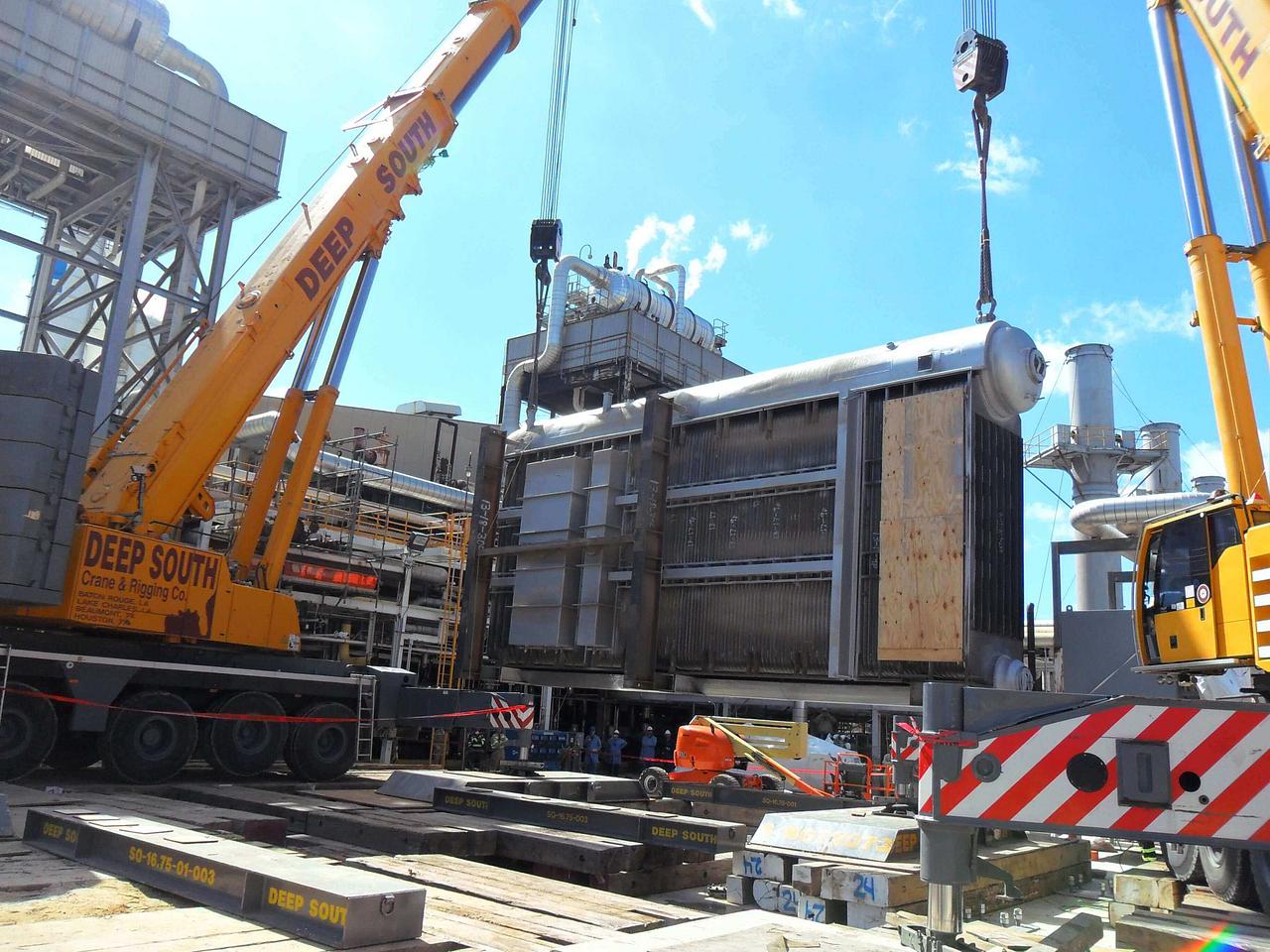 500-ton Liebherr LTM