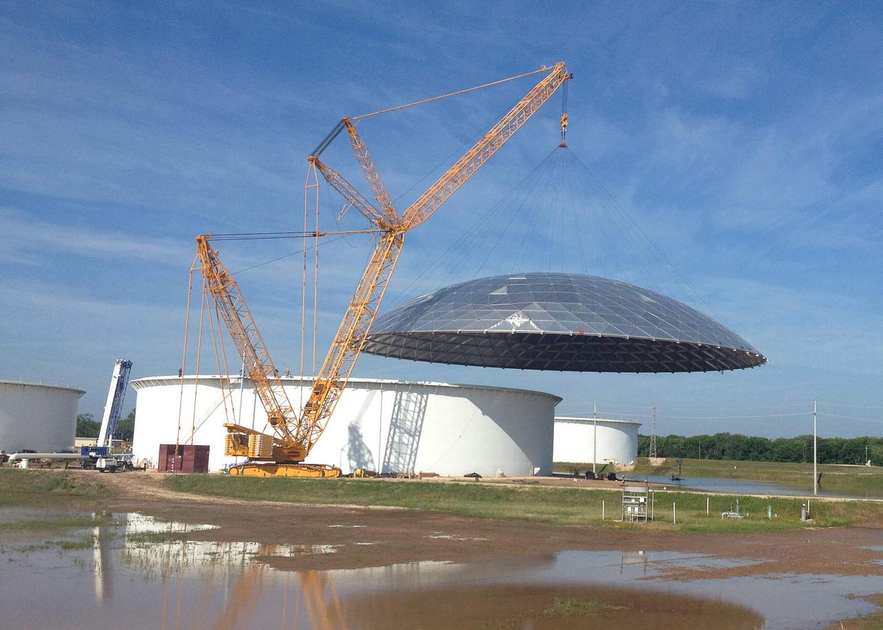 660 Ton Heavy Lift Crane