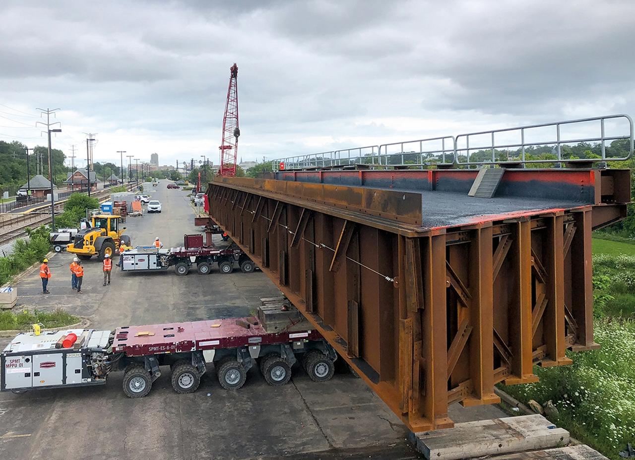 Bridge Span Transportation