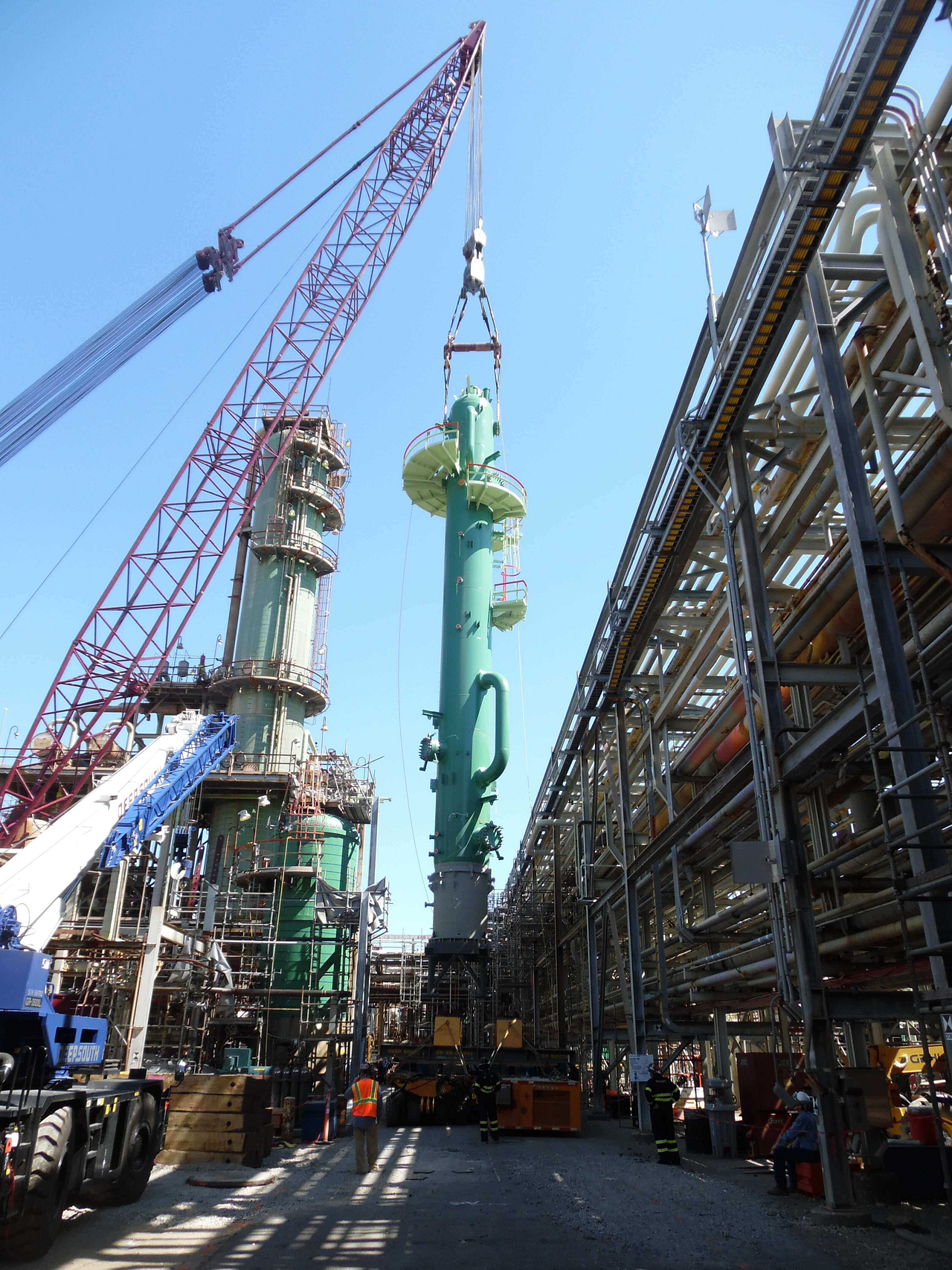 Deep South Crane & Rigging for turnkey projects