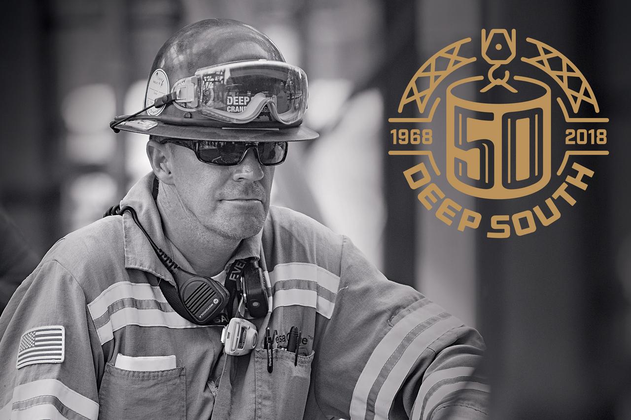 Deep South Crane 50th Anniversary