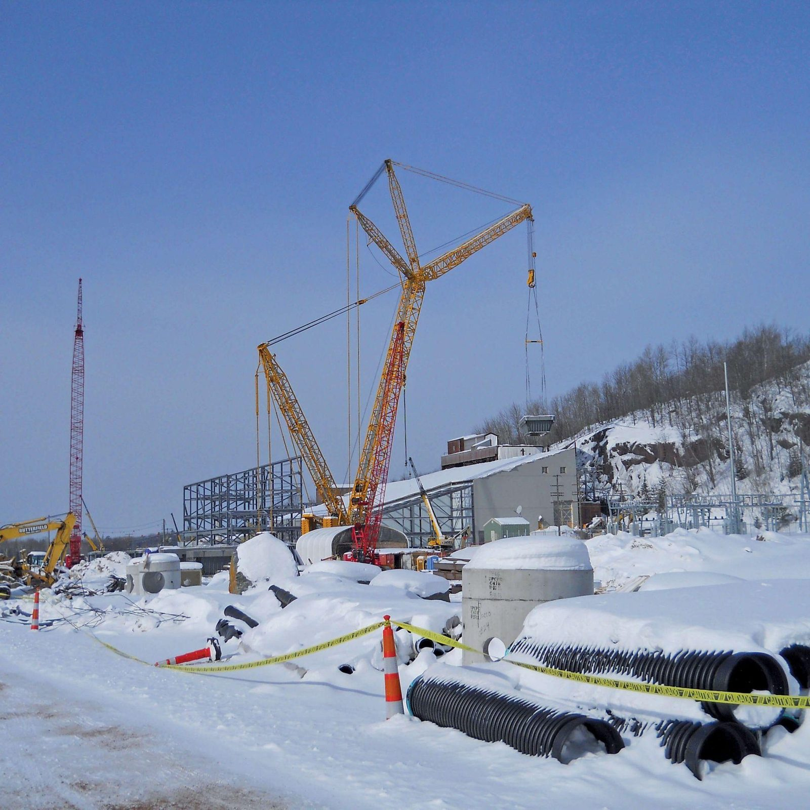 Heavy Lift Services for Mining Facility