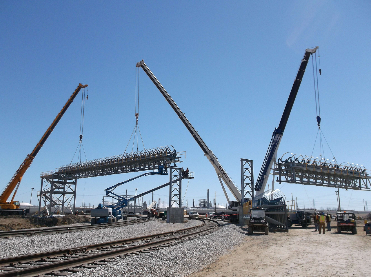 Lifting Services for Conveyor System