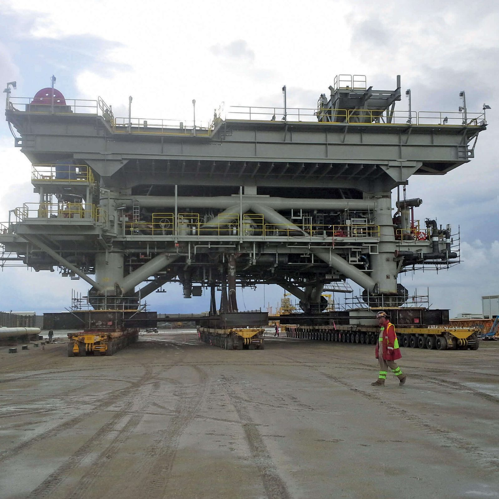 Offshore Platform Heavy Transport Services