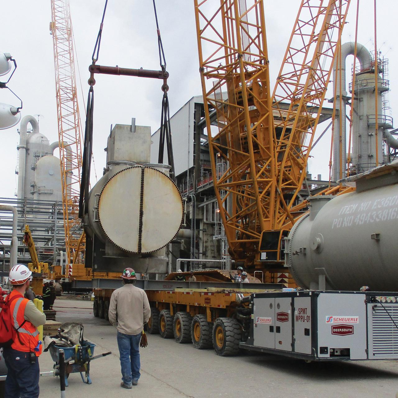 Propylene Compressor Replacement