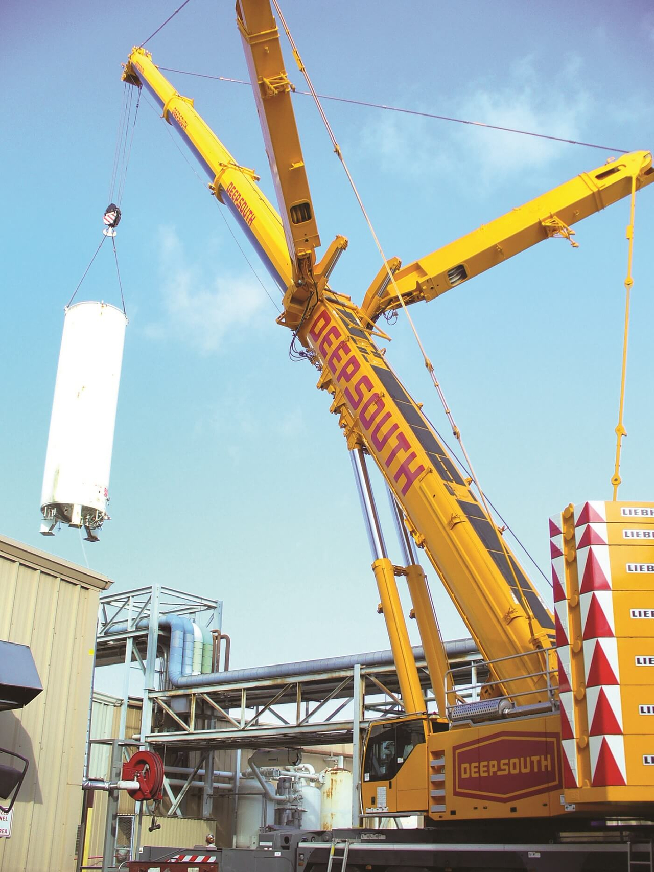 Storage Tank Lift Services