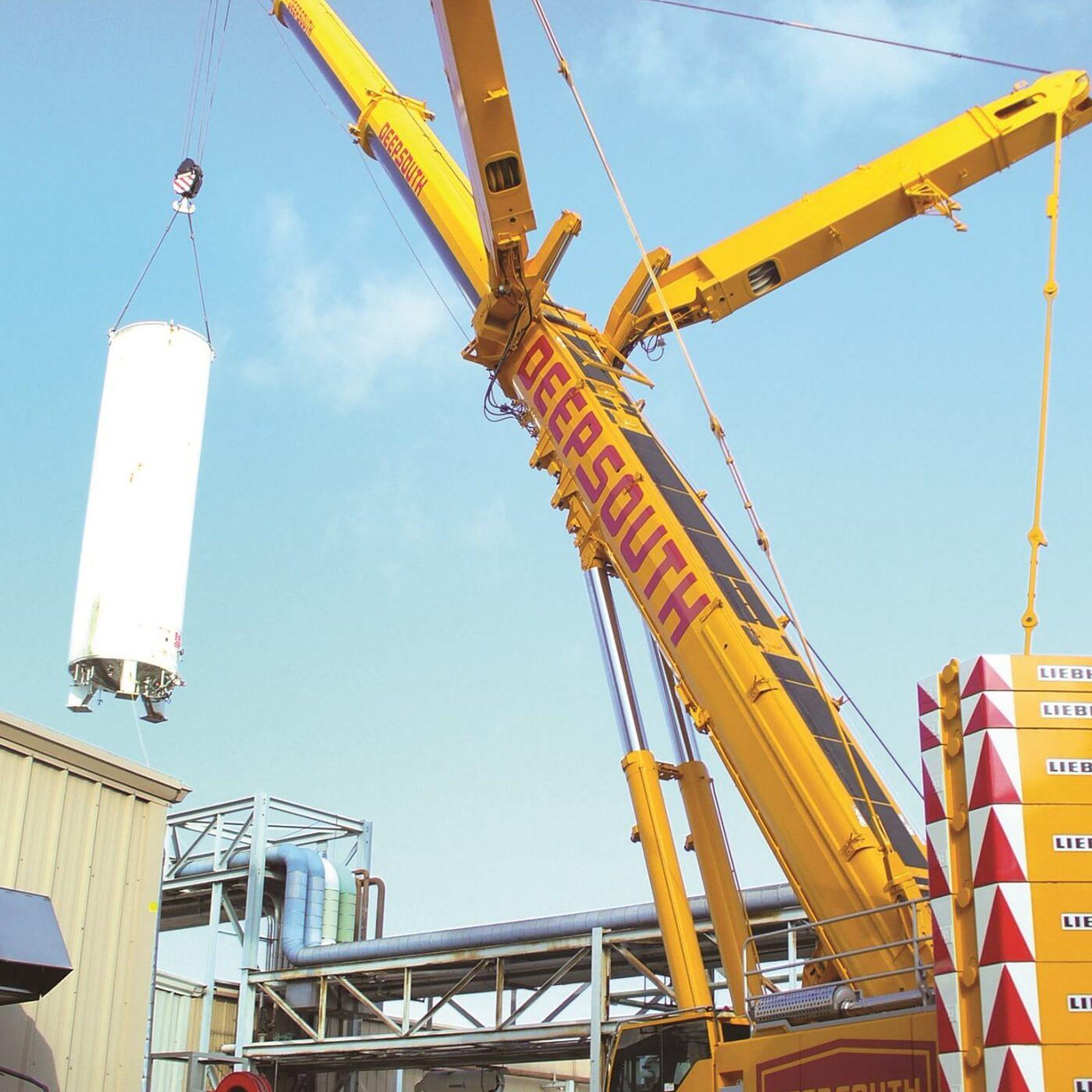 Storage Tank Lift Services