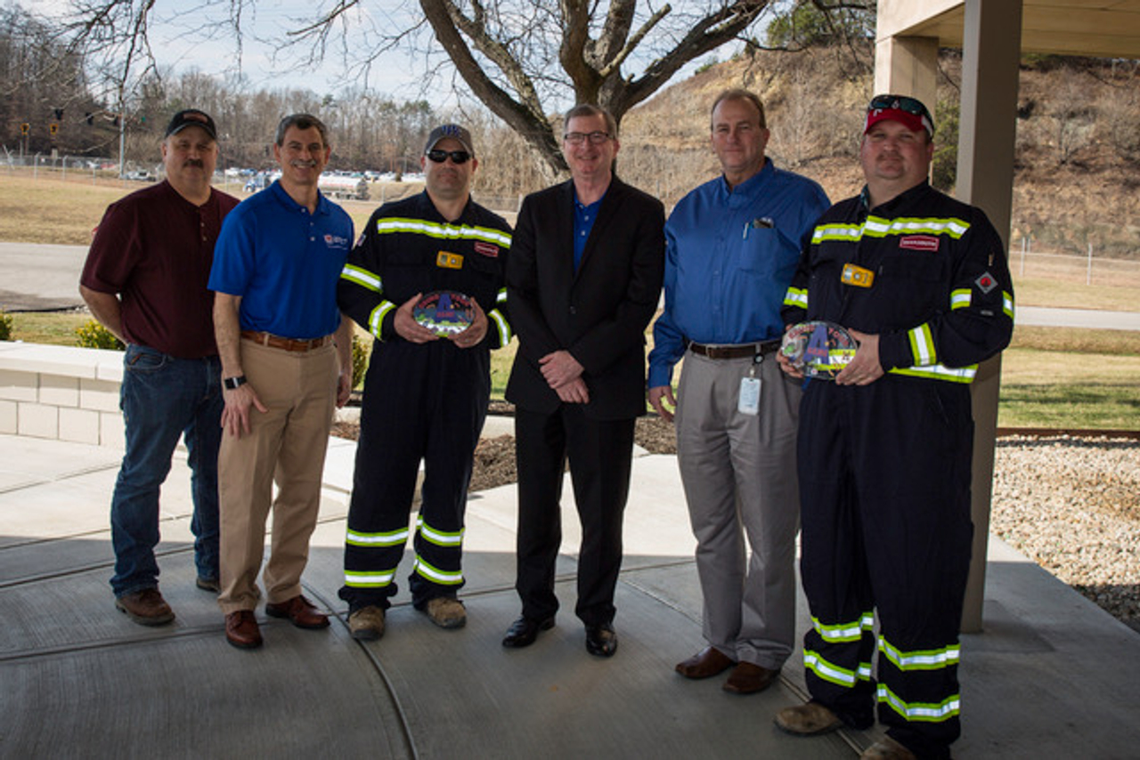 deep south employees honored