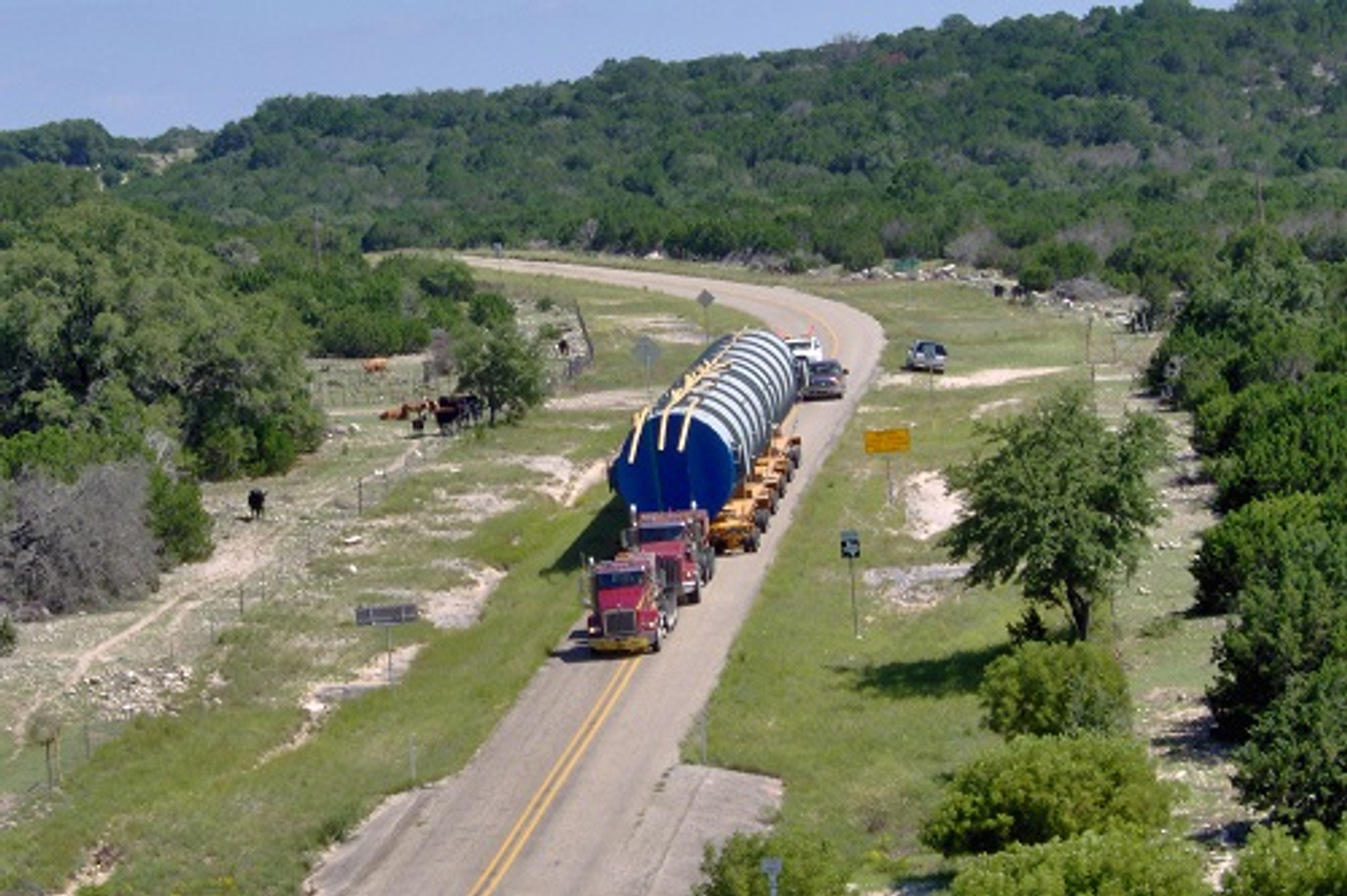 goldhofer dual lane trailers