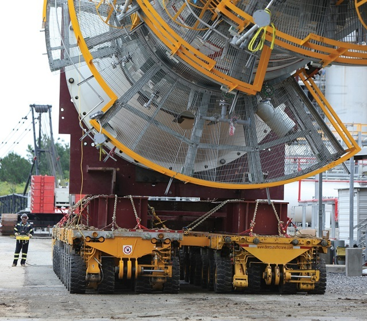 prefrac tower transport